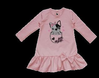 Suknelė su šuniuku