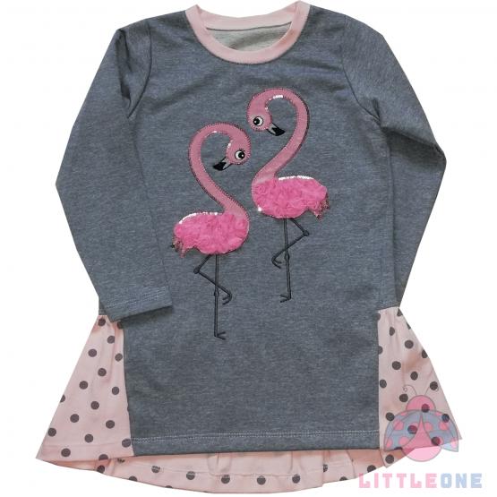 """Suknelė """"Flamingai"""""""
