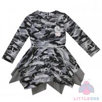 Suknelė su dvigubu sijonuku