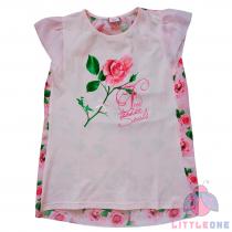 Palaidinė su rože (rožinė)