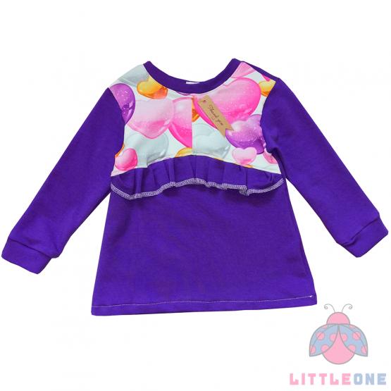 Violetinis džemperiukas