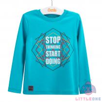 """Marškinėliai """"Stop thinking, start doing"""""""