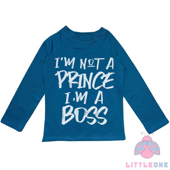 """Marškinėliai """"I'm not a Prince"""" (mėlyni)"""