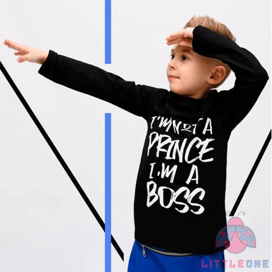 "Marškinėliai ""I'm not a Prince"" (juodi)"