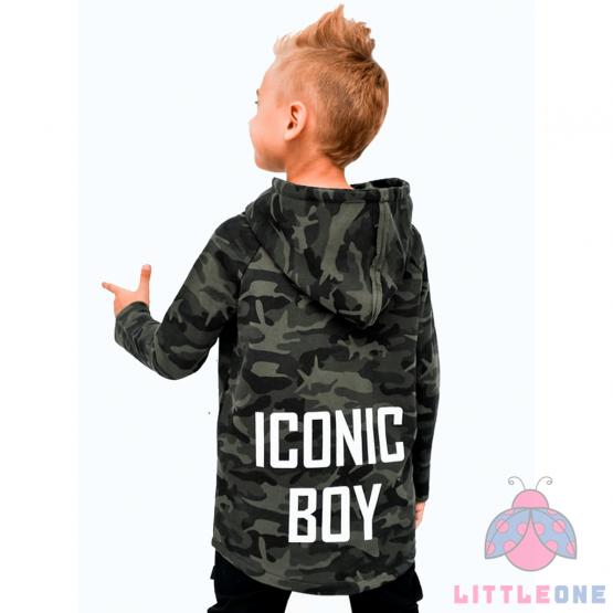 Švarkelis ICONIC BOY (kamufliažinis)