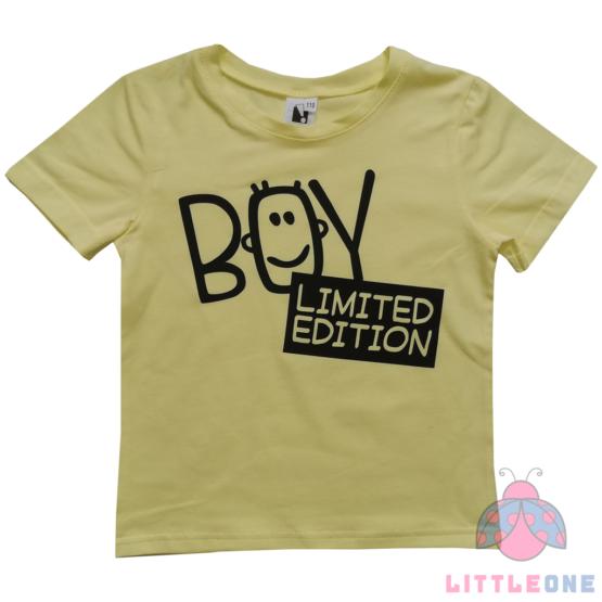Marškinėliai BOY (geltoni)
