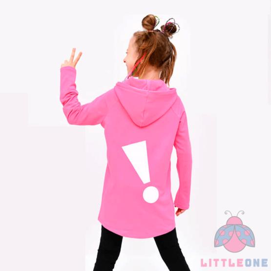 Ilgesnio modelio džemperiukas GIRL