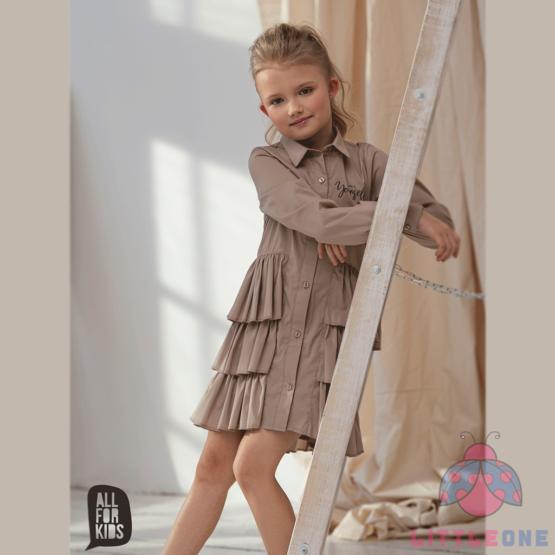 Marškinių tipo suknelė (smėlio)